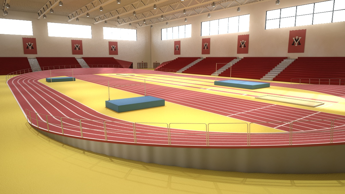 VMI's Incredible New Hydraulic Indoor Track